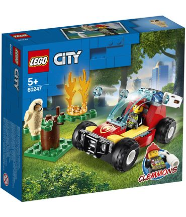 Lego Incendio Bosque City Fire 60247