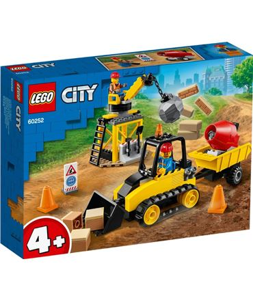 Lego Buldozer Construccion City 60252