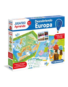 Jugando Aprendo - Mapa Geo: Descubre Europa