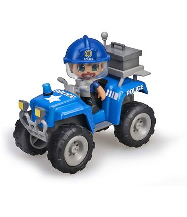 Pin y Pon Action Policia Quad