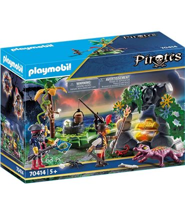 Playmobil Escondite Pirata 70414