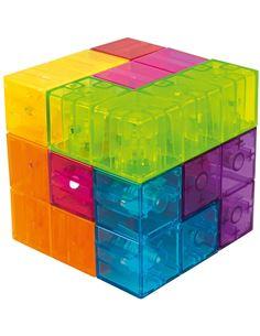 Puzzle 4x100 piezas Spiderman