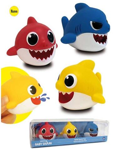 Baby Shark Figuras Baño