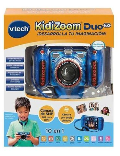 Kidizoom - Camara Duo DX 10 en 1 Azul