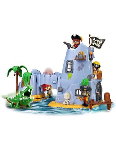 Pin y Pon Isla Pirata Capitan Caiman