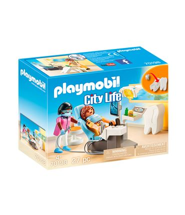 Playmobil City Life - Dentista 70198