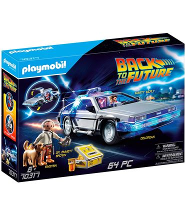 Playmobil Regreso al Futuro - Delorean 70317 - 30070317