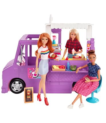 Barbie - Furgoneta Food Truck