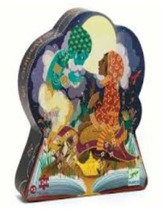 Puzzle Silueta Aladin