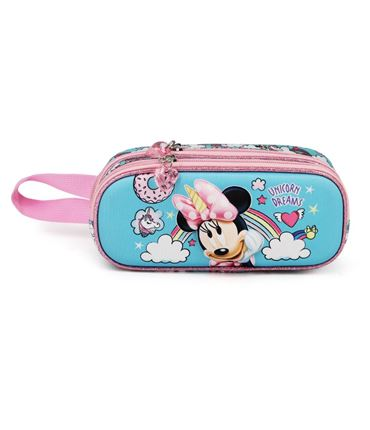 Minnie unicorn - Portatodo Doble 3D