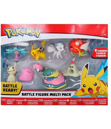 Pokemon Battle Figure Pack 8