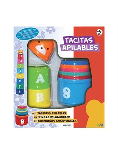 Tacitas Apilables 9 piezas