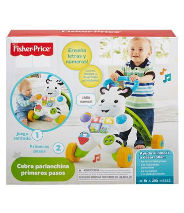 Cebra Parlanchina Primeros Pasos Fisher Price