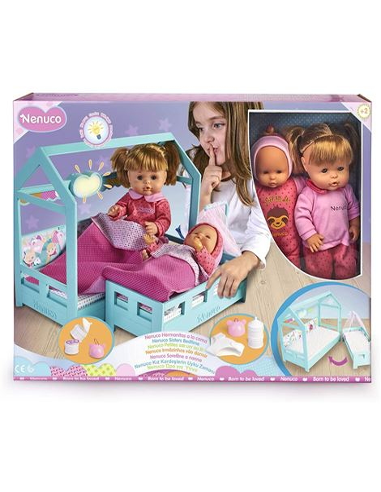 Muñecas - Nenuco: Hermanitas a la Cama - 13008030