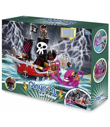 PinyPon Action - Barco Pirata