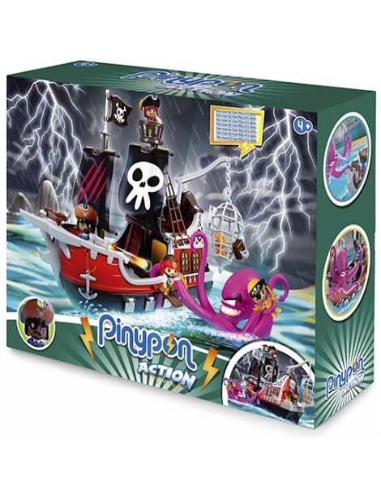 PinyPon Action - Barco Pirata - 13008119