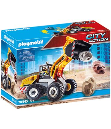 Playmobil City Action - Cargadora Frontal 70445