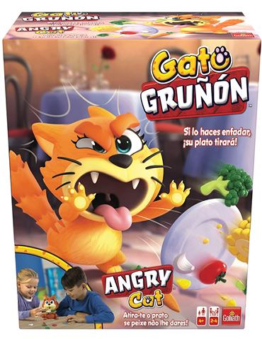 Gato Gruñon - Si lo haces enfadar ¡su plato tirará