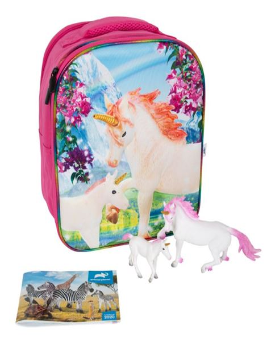 Mochila Unicornios 3D - 60487726