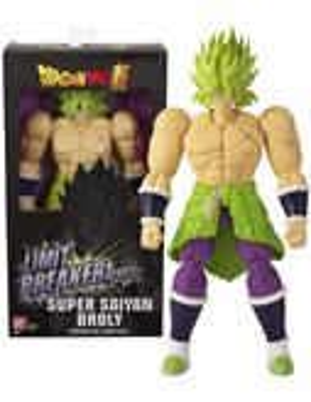 Dragon Ball - Figura Super Saiyan Broly Verde - 02536237-1