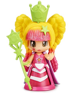 Pinypon - Queen Luz: Vestido Rosa
