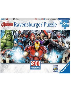 Puzzle 200 XXL Avengers Panorama