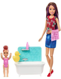 Barbie - Skipper Canguro: Hora de la ducha