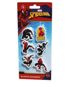 Gomas Borrar Spiderman