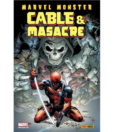 Comic Marvel Monster Cable Masacre