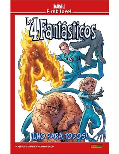 Comic - Marvel Los 4 Fantasticos: Uno para todos