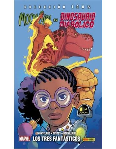 Comic Moon Girl y Dinosaurio Diabolico