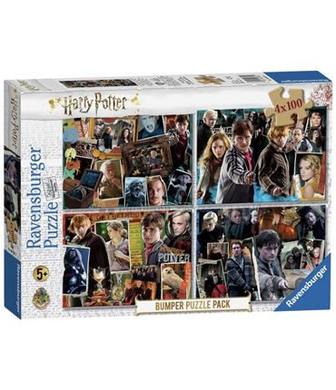 Puzzle 4x100 piezas Harry Potter