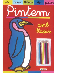Llibre de Pintar - Amb 6 llapisos de colors