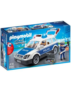 Coche Policia Luces y Sonidos Playmobil 6920