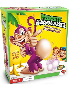 Pedrete el Mono Guarrete - Juego familiar