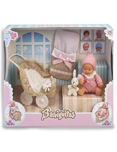 Muñeca - Barriguita: Carrito con Bebe