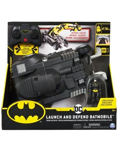 Coche Radio Control - Batmovil: lanza y defiende