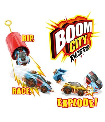 Boom City Racer Car Rip & Cord