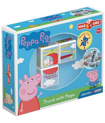 Puzzle - Peppa Pig Travel (Magnetico)