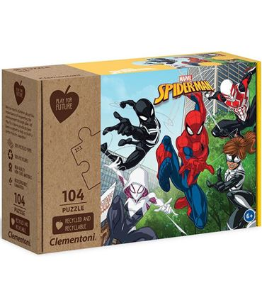 Puzzle - Play for Future: Marvel: Spiderman 104 pc