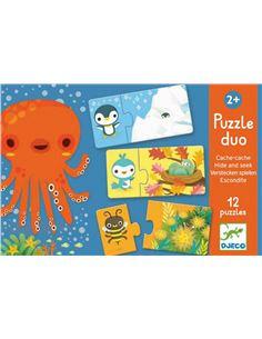 Peluche - Doudou: Oso Azul Organico