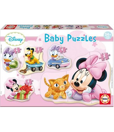 Puzzle - Multipuzzle Baby: Minnie Rosa