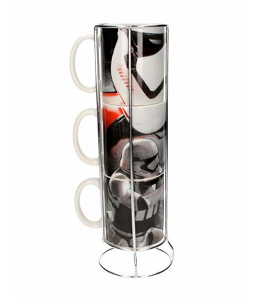 TAZAS STAR WARS STORMTROPPERS