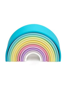 Mi primer Arco Iris - Color Pastel: Silicona 12 pc