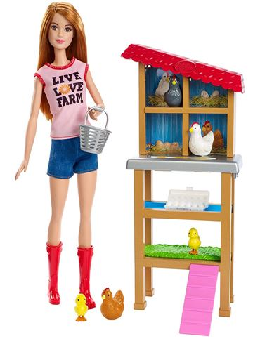 Barbie - Yo quiero ser: Granjera