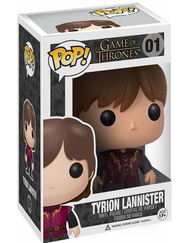 Funko Pop - Tyrion Lannister 01 (Juego de tronos) - 54203014-2