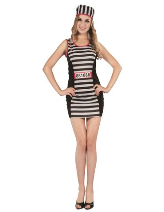 Disfraz Prisionera Sexy Adulto