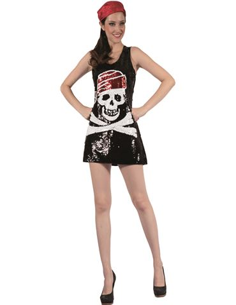 Disfraz Pirata Calavera Adulto
