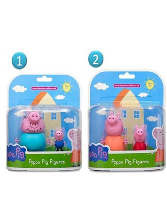 Figuras Coleccionables Familia Peppa Pig
