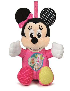 Peluche - Baby Minnie (Luces y Sonidos)